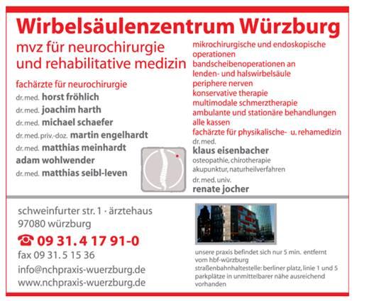 Wirbelsäulenzentrum Würzburg